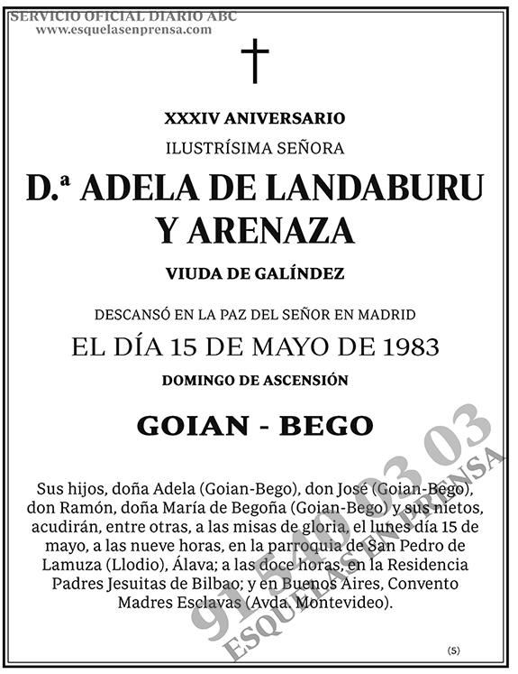Adela de Landaburu y Arenaza